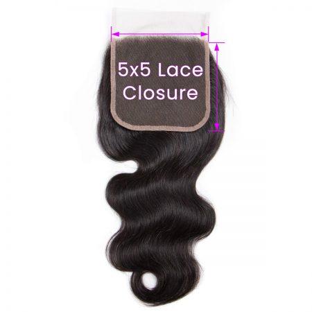 Body Wave 5x5 Lace Closure