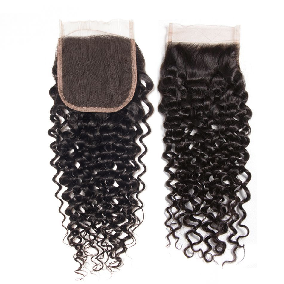 Curly Hair 4x4 Lace Closure