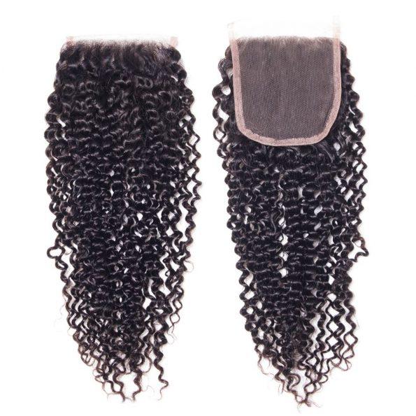 Kinky Curly 4×4 Lace Closure