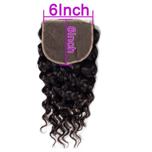 Water wave 6×6 Lace Closure