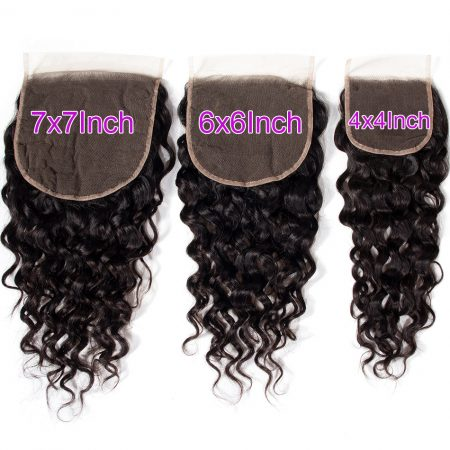 Water wave 6x6 Lace Closure