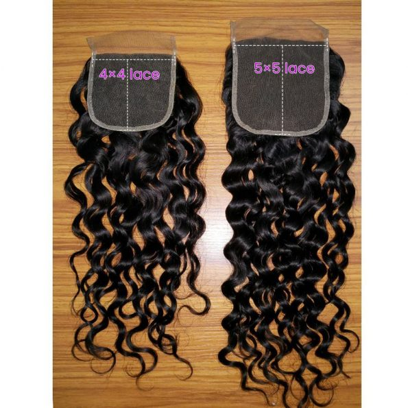 Water Wave 5×5 Lace Closure