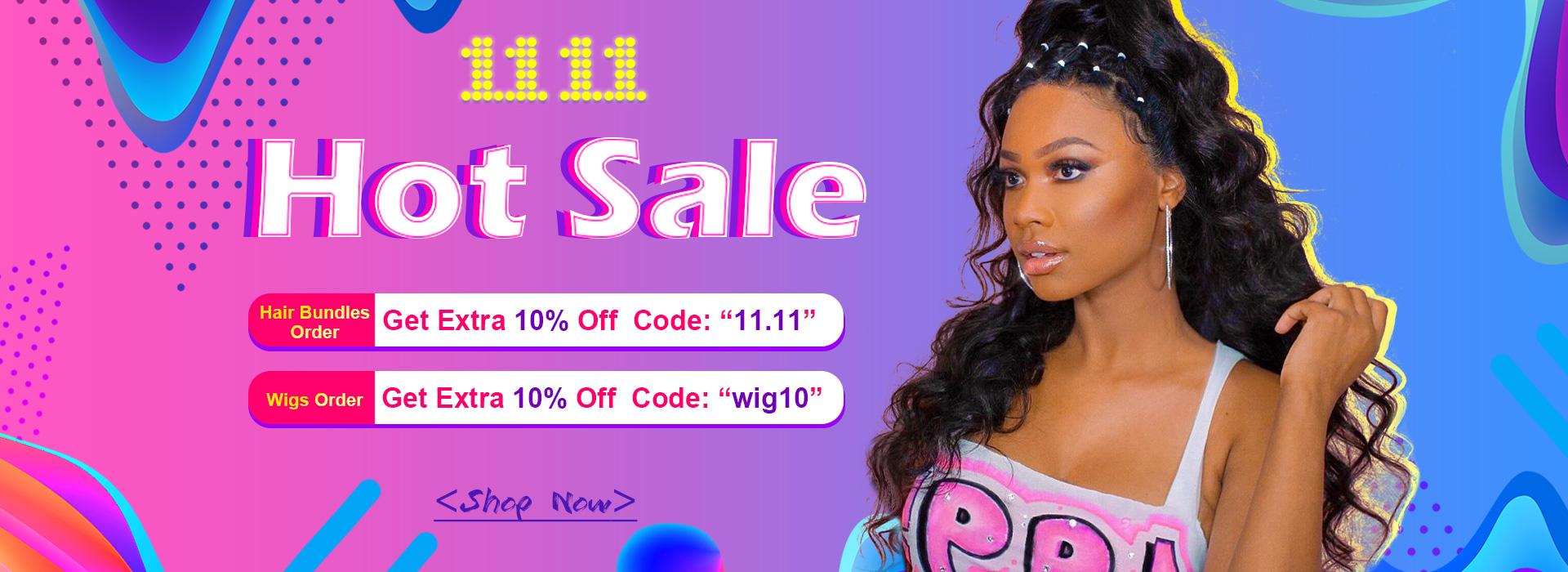 celie hair 11.11 sale