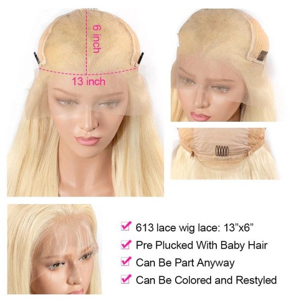 180% Density 613 Brazilian Straight Lace Front Wig (4)