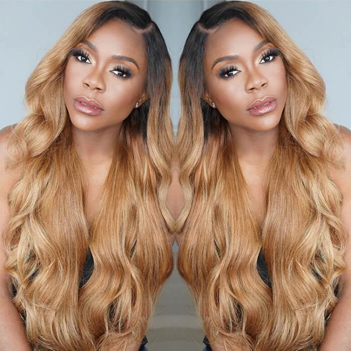B27 Body Wave lace wig