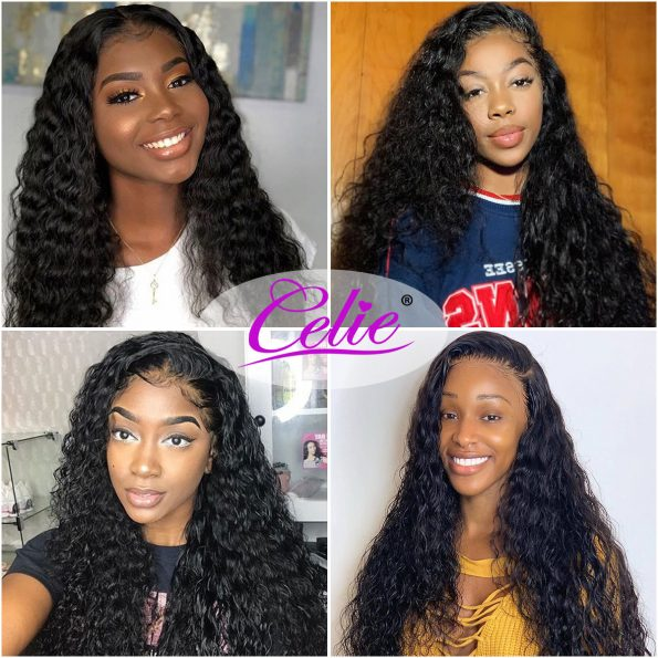 Water Wave 13×4 Lace Front Wig