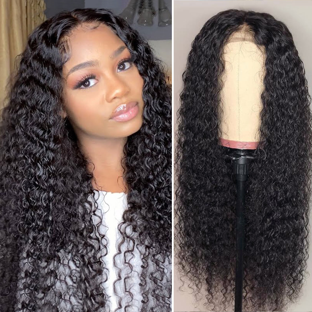 Curly 5x5 Lace Wigs