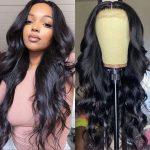 5×5 body wave closure wig