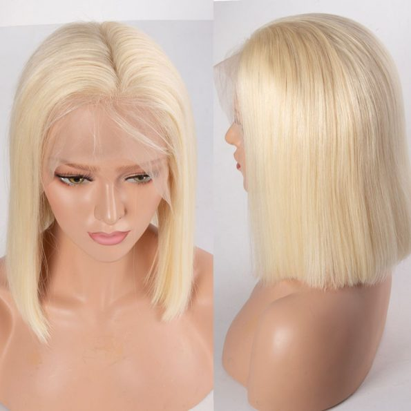 613 Straight Bob 13×6 Lace Front Wig (2)