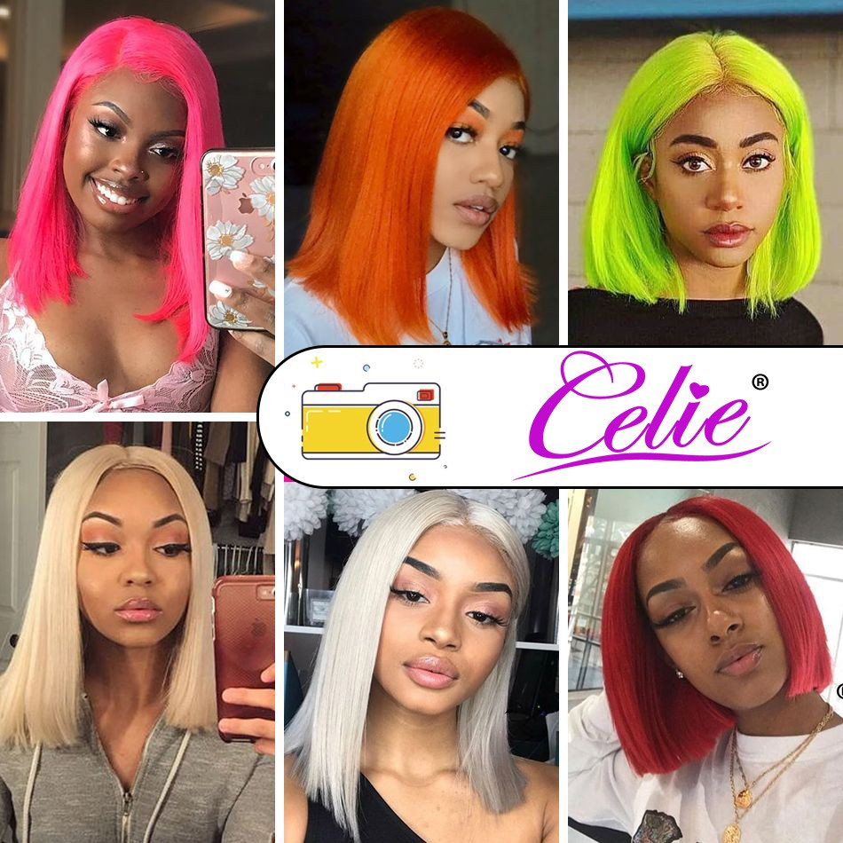 613 Straight Bob 4x4 Lace Front Wig