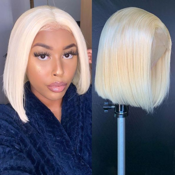 613 Straight Bob 4×4 Lace Front Wig (3)