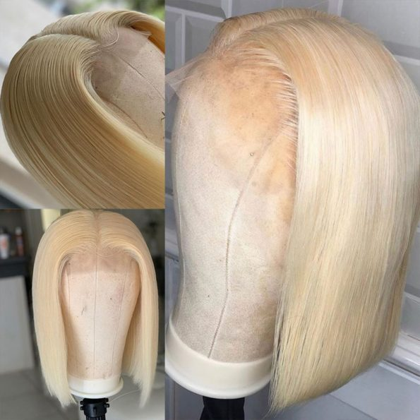 613 Straight Bob 4×4 Lace Front Wig (5)