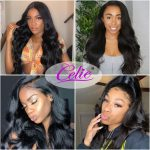 full body wave lace front wig