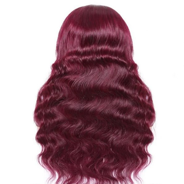 Body Wave Headband Wig 99J Color (4)