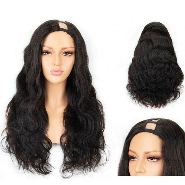 Body Wave U Part Wig (1)
