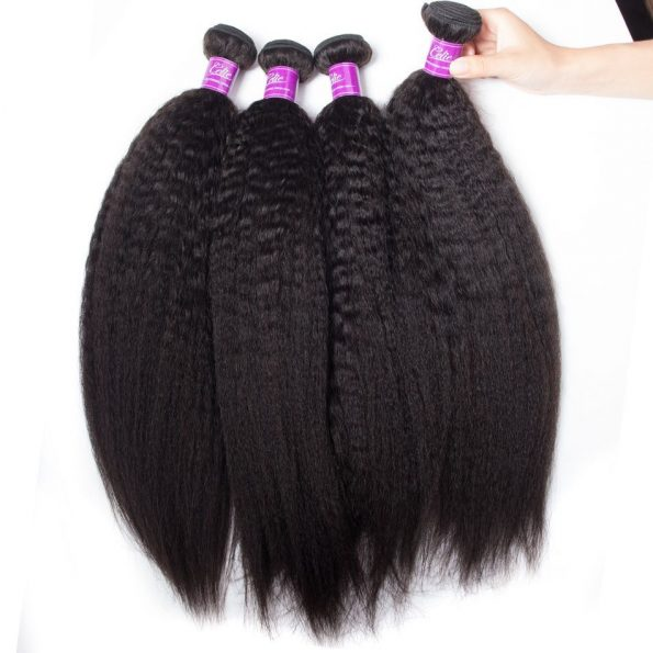 Brazilian Kinky Straight Hair 4 Bundles (2)