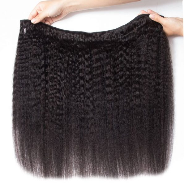 Brazilian Kinky Straight Hair 4 Bundles (3)