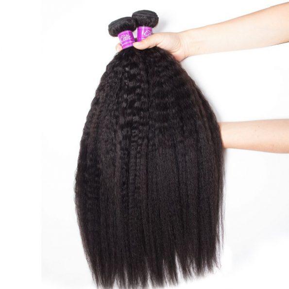 Brazilian Kinky Straight Hair 4 Bundles (4)