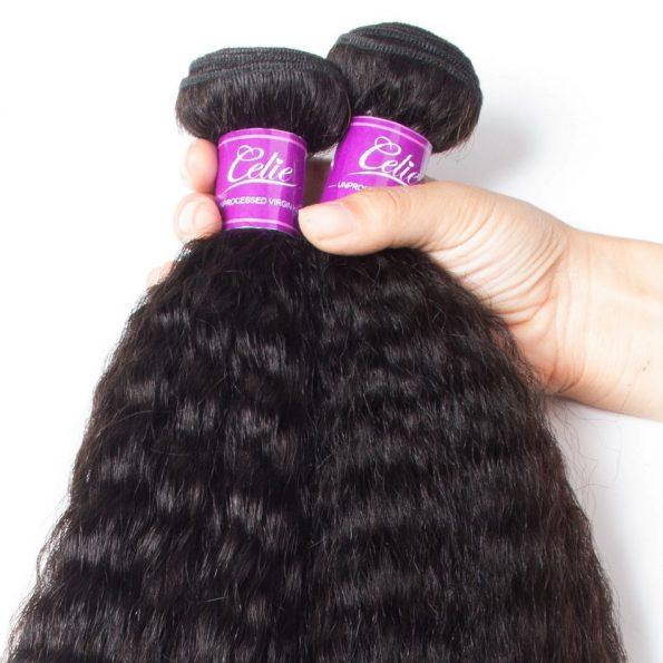 Brazilian Kinky Straight Hair 4 Bundles (6)