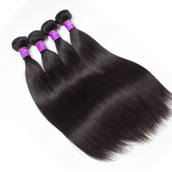 Brazilian Straight Hair 4 Bundles 3