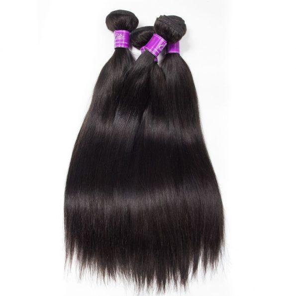 Brazilian Straight Hair 4 Bundles 4
