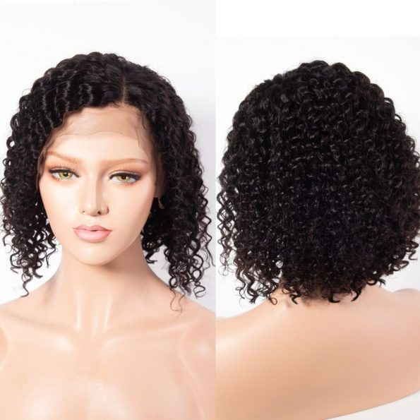 Curly Bob Lace Front Wig (4)