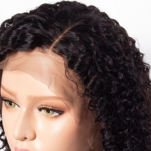 Curly Bob Lace Front Wig (5)