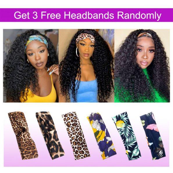 Curly Hair Headband Wig (1)