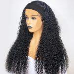headband curly wig