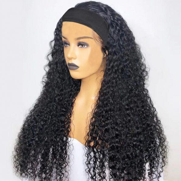 Curly Hair Headband Wig (4)