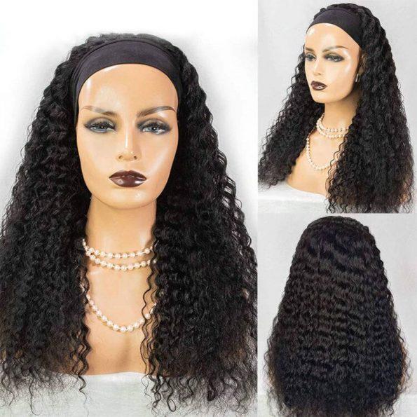 Curly Hair Headband Wig (5)