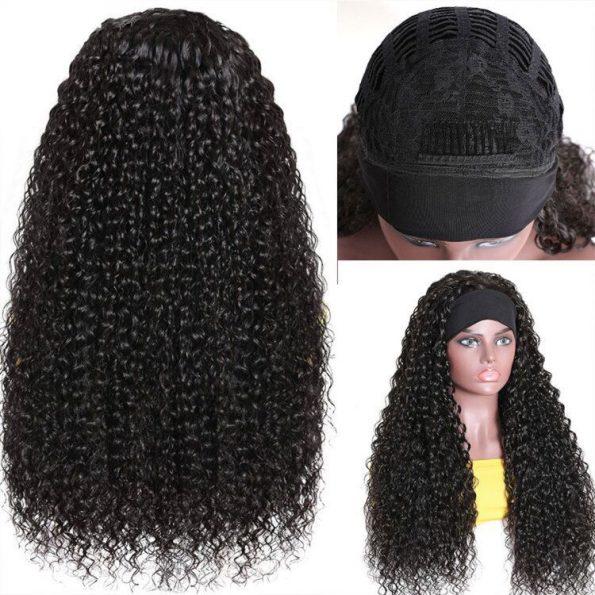 Curly Hair Headband Wig (6)
