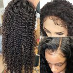 13×6 curly lace front wig