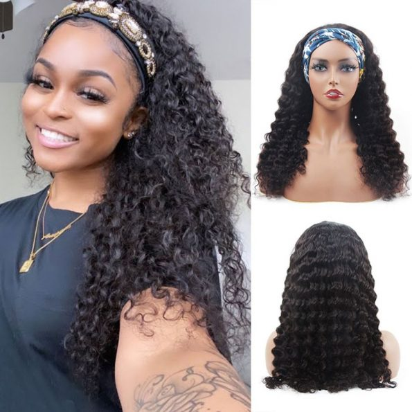 Deep Wave Headband Wig (6)
