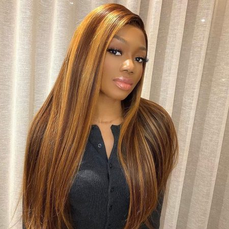 oney Blonde straight wig
