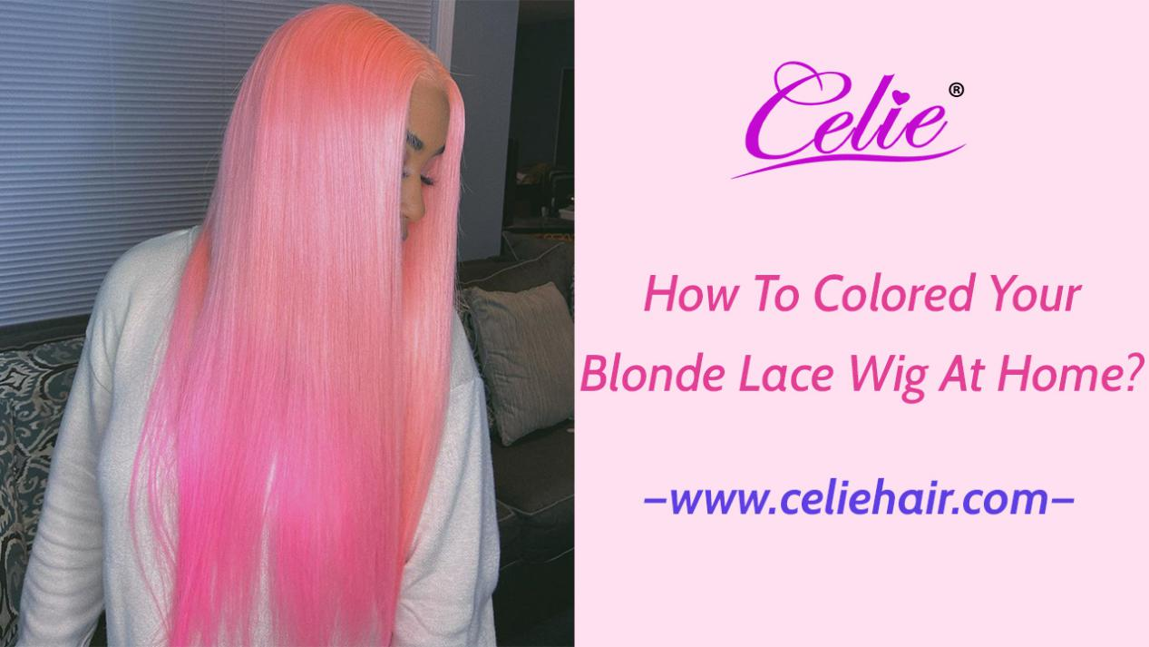 colored lace wig