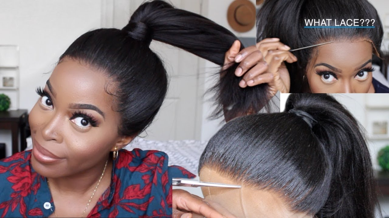 How_To_put_a_360_Lace_Frontal_wig_Up_in_a_Ponytail