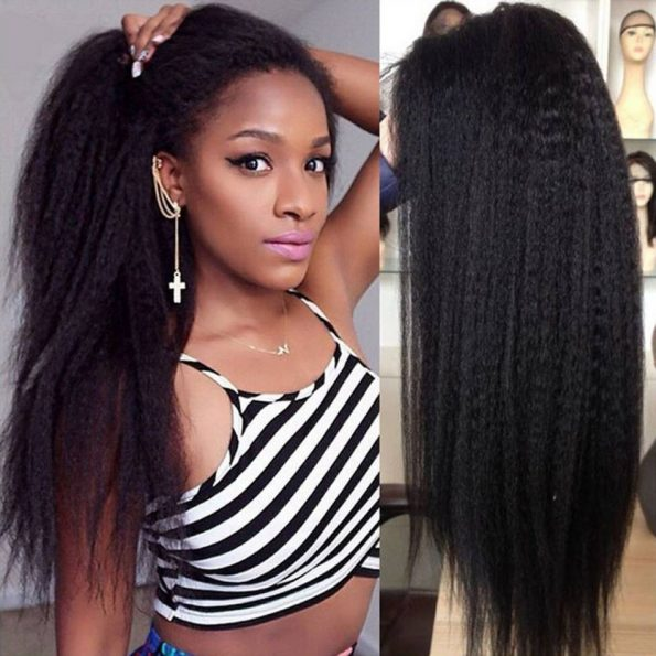Kinky Straight Full Lace Wigs (4)