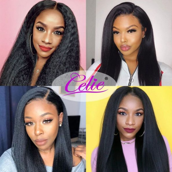 Kinky Straight Full Lace Wigs (7)