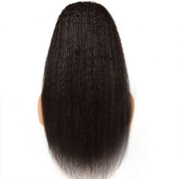 Kinky Straight Hair U Part Wig (4)