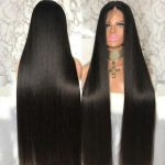 13×4 Long Inch straight lace front wig