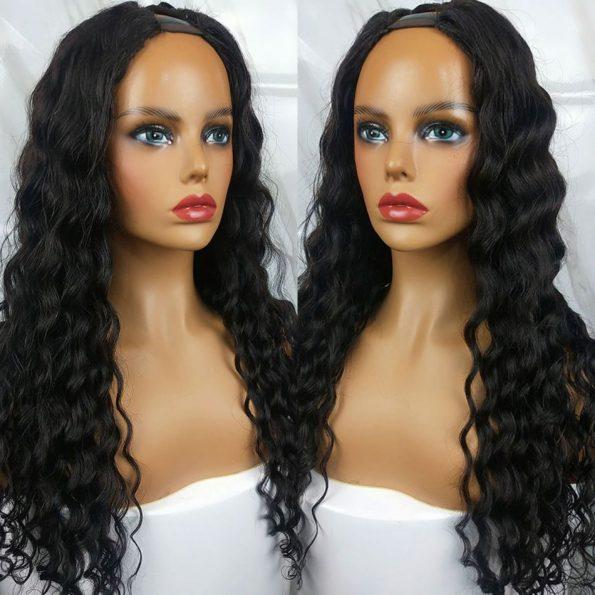 Loose Deep U Part Wig (4)