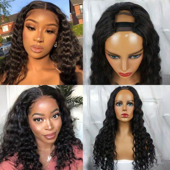 Loose Deep U Part Wig (5)