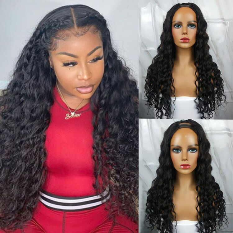 Loose Deep U Part Wig