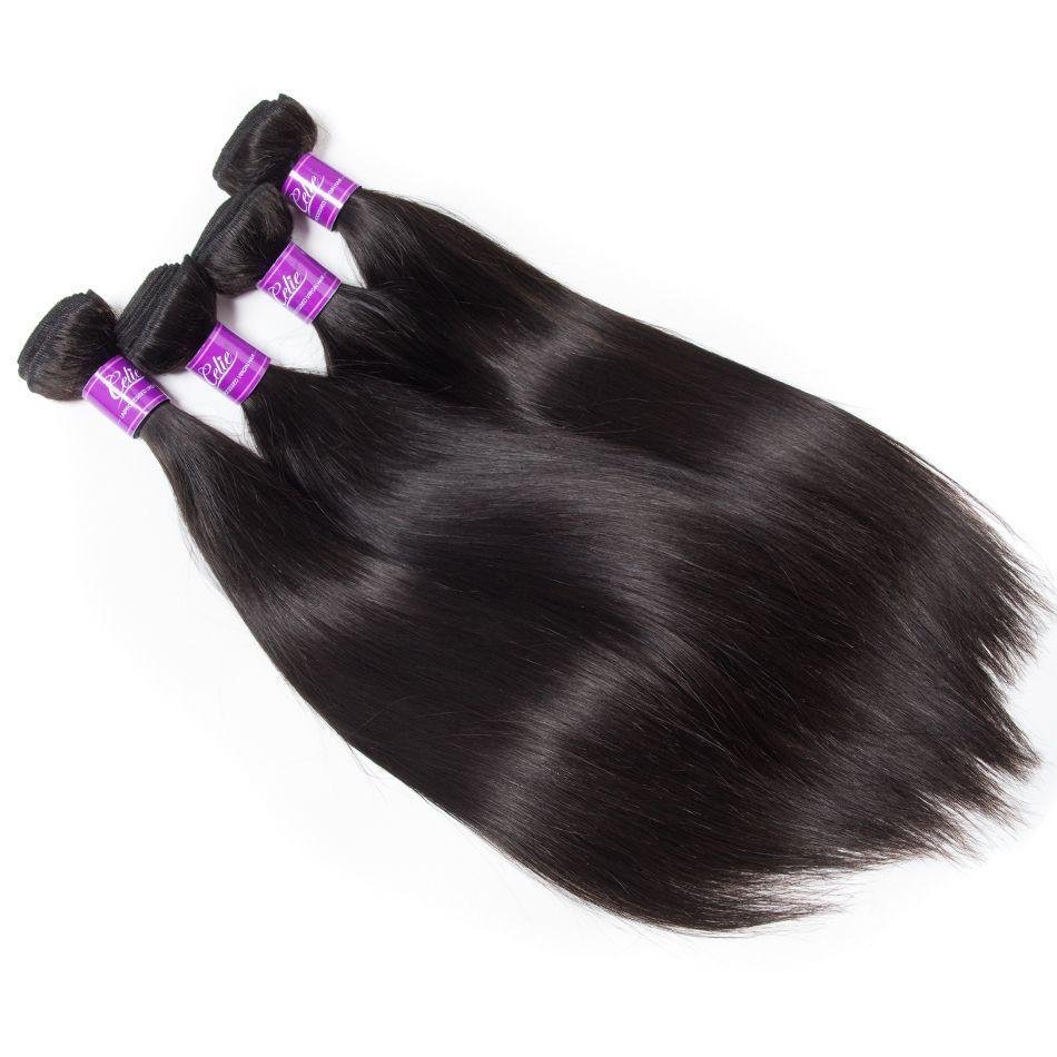 Malaysian Straight Hair 4 Bundles 1