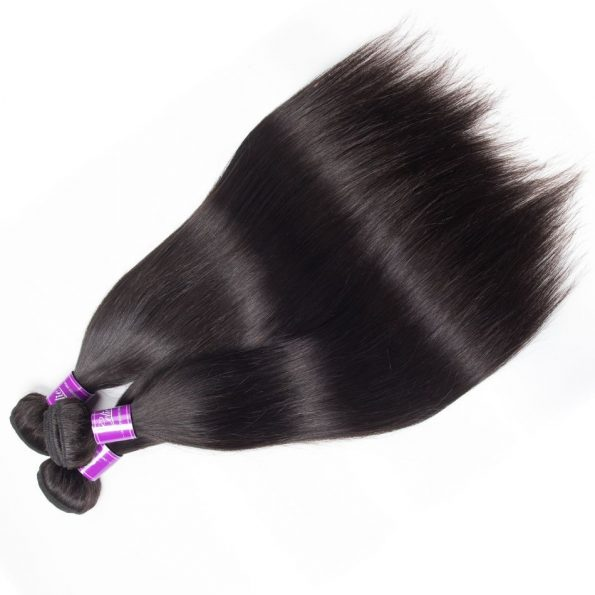 Malaysian Straight Hair 4 Bundles 3