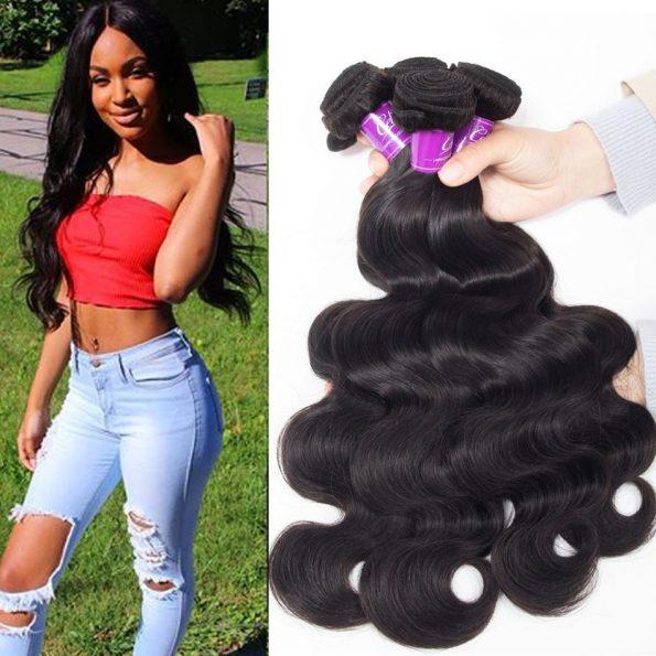 Peruvian Hair Body Wave 4 Bundles