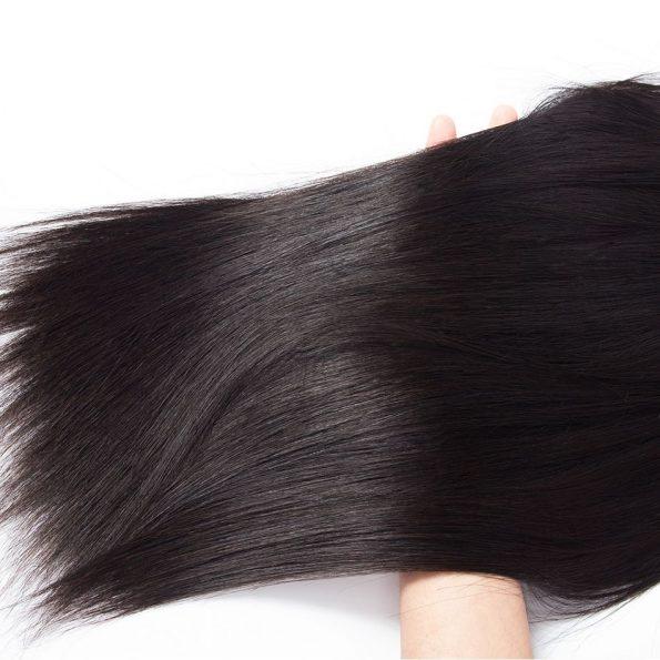 Peruvian Straight Hair 4 Bundles 4
