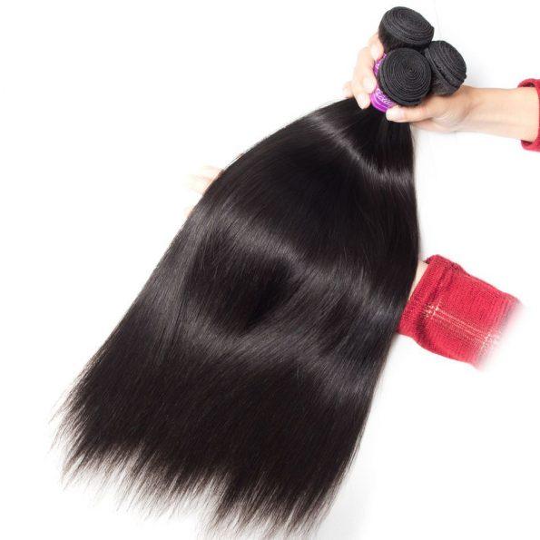 Peruvian Straight Hair 4 Bundles 7