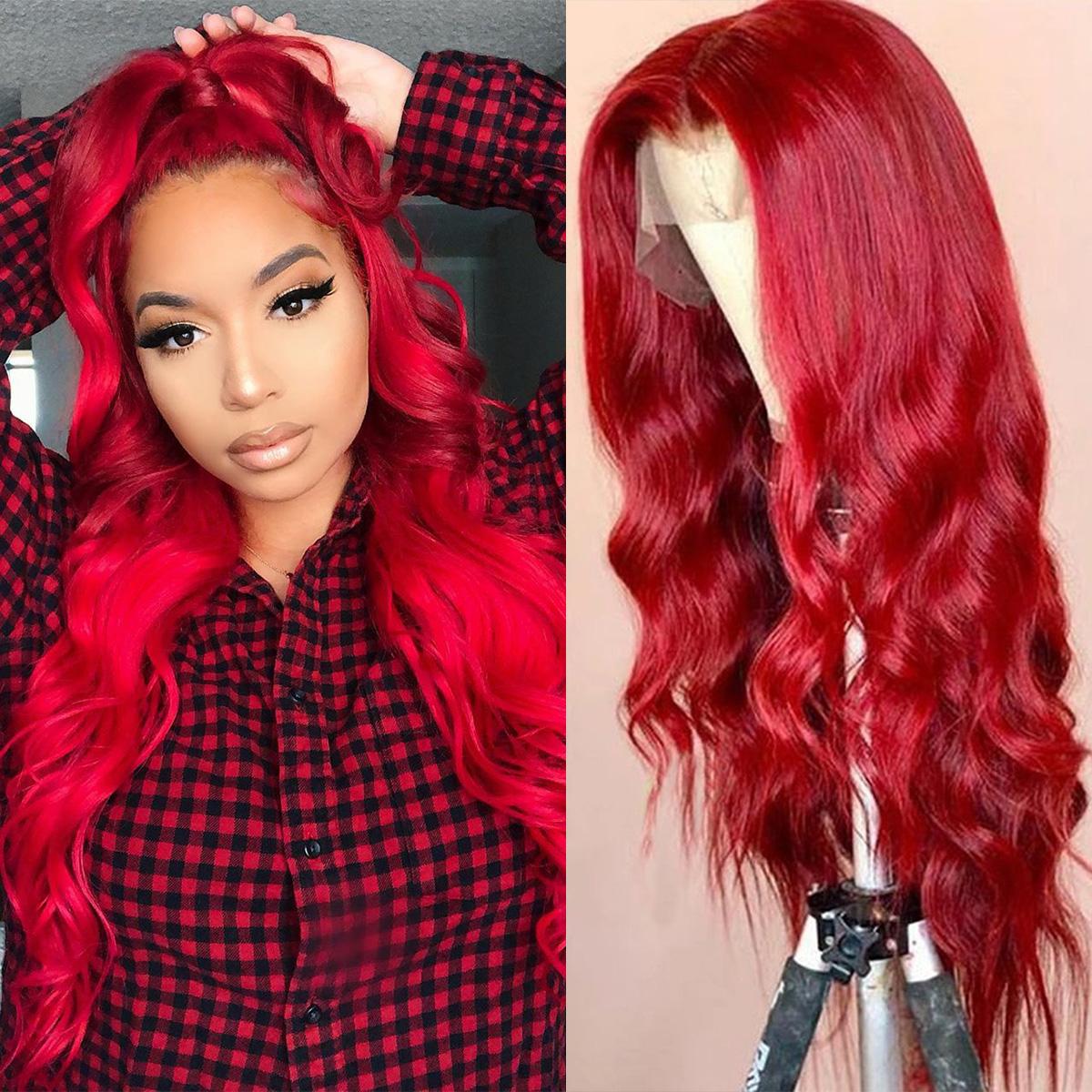 Redwine Body Wave 13x6 Lace Wigs